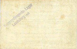 Banknoten Allemagne. Landsberg. Kriegsgefangenenlager. Billet. 5 mark 1.10.1915