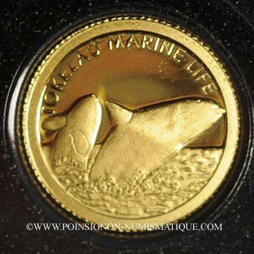 Münzen Tokelau. Elisabeth II (1952 -/). 5 dollars 2012 (PTL 999‰. 0,5 g)