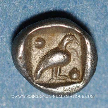 Münzen Carie. Mylasa.Tétartemorion, 420-390 av. J-C