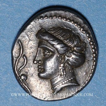 Münzen Paphlagonie. Sinope. Monnayage satrapique (vers 350-330 av. J-C). Drachme