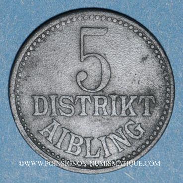 Münzen Aibling. District. 5 pfennig n. d.