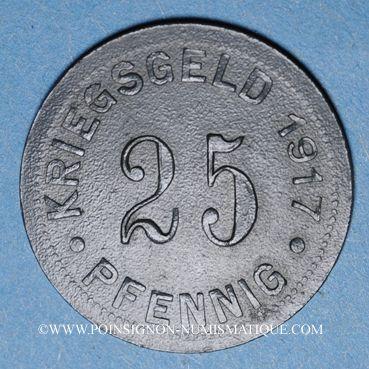 Münzen Münster i Westf. Ville. 25 pfennig 1917