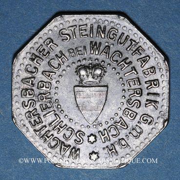 Münzen Schlierbach. Wächtersbacher Steingutfabrik. 10 pfennig n.d. Fer