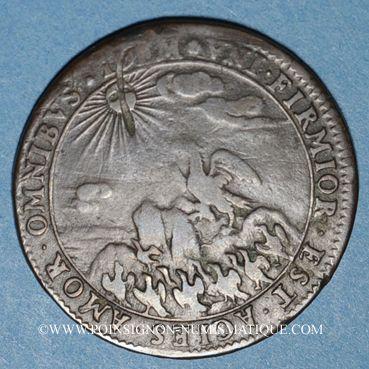 Münzen Etats de Bourgogne. Jeton cuivre 1671