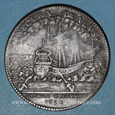 Münzen Etats de Bourgogne. Jeton cuivre 1694