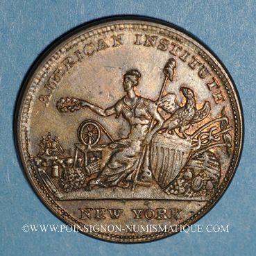 Münzen Etats Unis. Hard Times token. Massachussetts. R & W Robinson, 1836