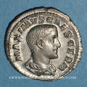 Münzen Maxime, césar sous Maximin I Thrax (235-238). Denier. Rome, 235-236. R/: Maxime