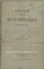 Antiquarischen buchern Annuaire de la Société Française de Numismatique. Tome 3, 1ère partie. 1868