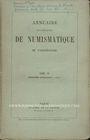 Antiquarischen buchern Annuaire de la Société Française de Numismatique. Tome 4, 2e livraison. 1874