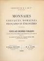 Antiquarischen buchern Ciani, vente aux enchères 14-16. 05.1936. Collection de M. E. de P*** (2e partie)