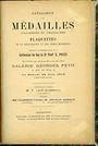 Antiquarischen buchern Feuardent / Sambon, Paris - Catalogue des médailles italiennes & françaises de coll feu S. POZZI