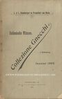 Antiquarischen buchern Hamburger L, Francfort, vente aux enchères, janv. 1902, Italienische Münzen, collezione Gnecchi, I