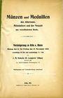 Antiquarischen buchern Heberle J. M., vente des 11-15.11.1912
