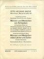 Antiquarischen buchern Helbing O., Munich. Auktions Katalog n° 78 du 20.03.1935