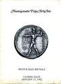 Antiquarischen buchern Numismatic Fine Arts. Vente du 15.01.1982