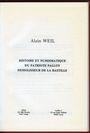 Antiquarischen buchern Weil Alain,  Histoire et numismatique du Patriote Palloy