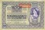 Banknoten Autriche. Billet. 10 000 couronnes (1919) surchargé sur billet du 2.11.1918
