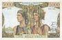 Banknoten Banque de France. Billet. 5000 francs, Terre et Mer, 5.4.1951