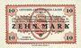 Banknoten Allemagne. Döbeln. Offiziers- Gefangenenlager. Billet. 10 mark 1.12.1917