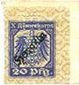 Banknoten Allemagne. Hameln. X. Armeekorps. Scheckmarken. Billet. 20 pf (1917)