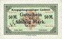 Banknoten Allemagne. Lechfeld. Kriegsgefangenenlager. Billet. 50 mark 25.1.1917 annulation manuscrite Ungültig