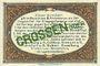 Banknoten Crossen. Inspektion der KGL im Bereich des XIII. Armeekorps. Billet. 1 pfennig 1.10.1917