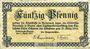 Banknoten Andernach und Mayen. Städte. Billet. 50 pfennig 1.4.1917