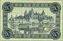 Banknoten Aschaffenburg. Stadt. Billet. 20 mark (1918-21), cachet d'annulation