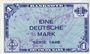 Banknoten Allemagne. Bank Deutscher Länder. Billet. 1 mark 1948