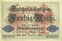 Banknoten Allemagne. Billet. 50 mark 5.8.1914, série A