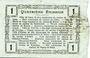 Banknoten Aisne, Ardennes et Marne - Bon régional. Hirson. Billet. 1 franc 12.12.1917, série 5