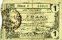 Banknoten Aisne, Ardennes et Marne - Bon régional. Hirson. Billet. 1 franc 14.6.1917, série 2