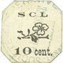 Banknoten Annonay (07). Coopérative La Laborieuse. Billet. 10 cmes