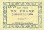 Banknoten Auchel (62). Compagnie Ferfay. Billet. 50 cmes 3.12.1915