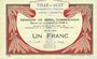 Banknoten Ault (80). Ville. Billet. 1 franc 15.9.1914