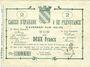 Banknoten Avesnes (59). Caisse d'Epargne et Prévoyance. Billet. 2 francs n. d., série 2