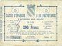 Banknoten Avesnes (59). Caisse d'Epargne et Prévoyance. Billet. 5 francs, série 3