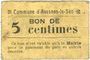 Banknoten Avesnes-le-Sec (59). Commune. Billet. 5 cmes n. d.