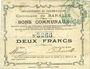Banknoten Baralle (62). Commune. Billet. 2 francs 26.2.1915