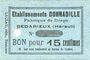 Banknoten Bedarieux (34). Etablissements Donnadile. Fabrique de draps. Billet. 15 cmes