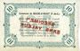 Banknoten Biache-Saint-Waast (62). Commune. Billet. 10 francs SPECIMEN