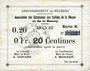 Banknoten Braux (08). Arrondissement de Mézières. Billet. 20 cmes, série K, 18.11.1914 et 19.1.1915