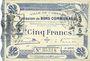 Banknoten Cambrai (59). Ville. Billet. 5 francs 30.10.1914, 2e série : 2 mm
