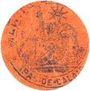Banknoten Carvin (62). Ravitaillement communal. Ticket-carton. 5 cent