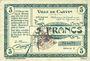 Banknoten Carvin (62). Ville. Billet. 5 francs 15.1.1915, série C