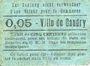 Banknoten Caudry (59). Ville. Billet. 5 centimes