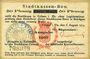 Banknoten Colmar (68). Stadtkassen - Bon. Billet. 50 pf 6.8.1914 surchargé Ausgabe 1917