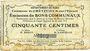 Banknoten Crèvecoeur-sur-l'Escaut (59). Commune. Billet. 50 centimes du 22.8.1915