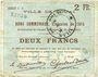 Banknoten Douai (59). Ville. Billet. 2 francs 30.8.1914, série C6