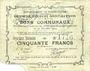 Banknoten Ecourt Saint-Quentin (62). Commune. Billet. 20 francs 20.12.1914, 2e émission